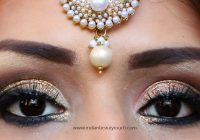 How to do Indian Bridal Eye Makeup – Indian Beauty Touch – indian bridal eye makeup