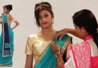 How To Wear A Saree In Bollywood Style – Party Style Saree ..
