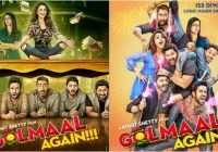 In Pics: 'Golmaal Again' new posters promise double dose … – bollywood new movie box