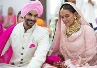 In Pics: Neha Dhupia Marries Angad Bedi in Private ..