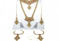 Indian Bollywood Designer Bridal Wedding Necklace Set ..