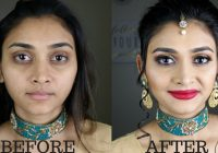 Indian/Bollywood/South Asian Bridal Makeup | Gold glitter ..