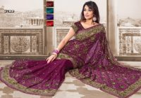 Indian Bollywood Wedding Saree Manufacturer inNew Delhi ..
