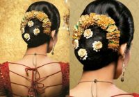 Indian Bridal Bun Hairstyles – Indian Beauty Tips – indian bridal bun