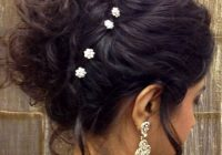 indian bridal hairstyle hair bun | Indian bridal ..