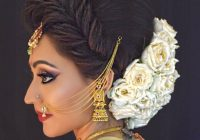 Indian Bridal Hairstyle With Puff | Fade Haircut – indian bridal hairstyle photos