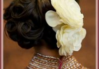 indian bridal hairstyles for reception (7) – HairzStyle ..