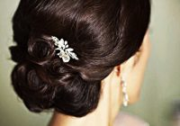 Indian bridal hairstyles updo's 28 | Indian Makeup and ..