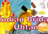 indian Bridal Ubtan For Instant Fairness,Clear & Glowing ..
