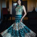 Indian bride reception look. | Photo 130051 | Maharani ..
