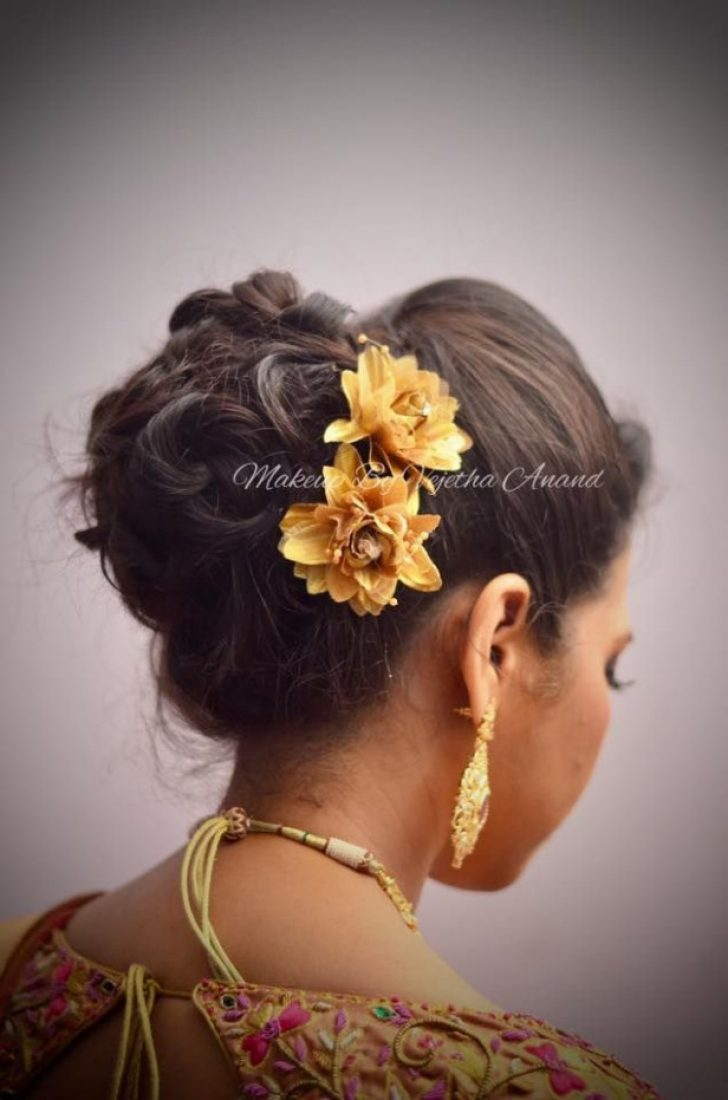 Permalink to Indian Bridal Updo Hairstyles