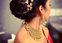 Indian bride's reception hairstyle by Vejetha for Swank ..