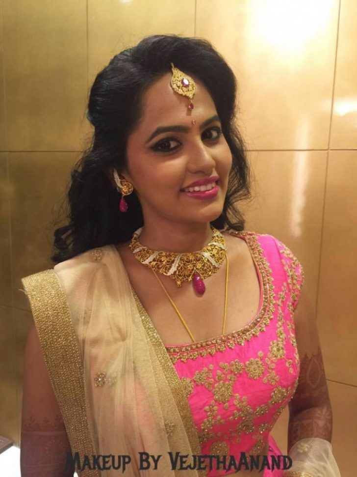 Permalink to Indian Bridal Reception Look
