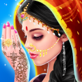 Indian Doll Bride Wedding Girl Makeup And Dressup – indian bridal games for girl