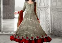 Indian Embroidered Chiffon Frock Price in Pakistan ..