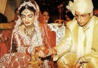 Indian Famous Actress Raveena Tandon Wedding Unseen ..