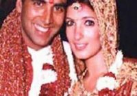 Indian film actress and actor Twinkle Khaana & akshay ..