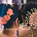 Indian Wedding Bun Hairstyle With Flowers and Gajra! – indian bridal bun