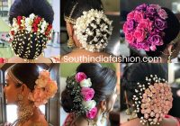 Indian Wedding Bun Hairstyle With Flowers and Gajra! – indian bridal bun hairstyles