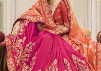 Indian Wedding Saree Latest Designs & Trends 2018-2019 ..