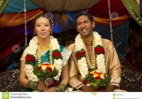 Interracial Indian Wedding stock photo. Image of cultural ..
