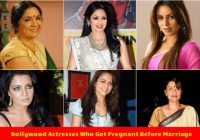 Is It a Trend in Bollywood, To Get Pregnant Before Marriage? – list of bollywood actress pregnant before marriage