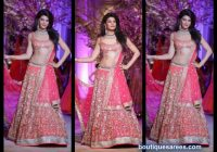 jacqueline fernandez in bridal lehenga choli | My Big Fat ..