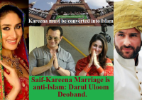 Kareena is still a Hindu. Saif-Kareena marriage is ..
