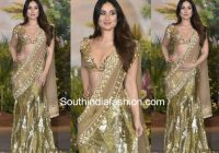 Kareena Kapoor in Manish Malhotra saree at Sonam Kapoor's ..