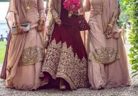 Latest Indian Bridesmaid Dresses Designs 2017 – HijabiWorld – indian bridal outfits 2017