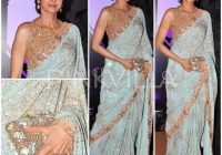 Latest Saree Designs 2017 for Pakistani  – bollywood saree designs 2017