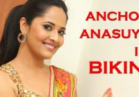 Latest Tollywood Film News – Anchor Anasuya in Bikini ..