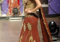 Lehenga-style saree – Wikipedia – indian bridal underwear
