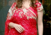 Madhuri Dixit in Red Saree – Bollywood Actress Madhuri ..