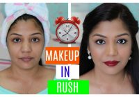Makeup In Rush (HINDI MAKEUP VIDEO) | SuperPrincessjo ..