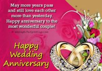 Marriage Anniversary SMS – 365greetings