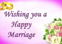 Marriage wishes sms want to would like in your word for ..