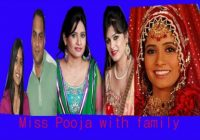 Miss Pooja with family | Bio data | Brother | sister ..
