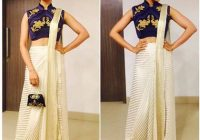 modern-saree-draping-styles – Indian Fashion Mantra – bollywood style saree draping