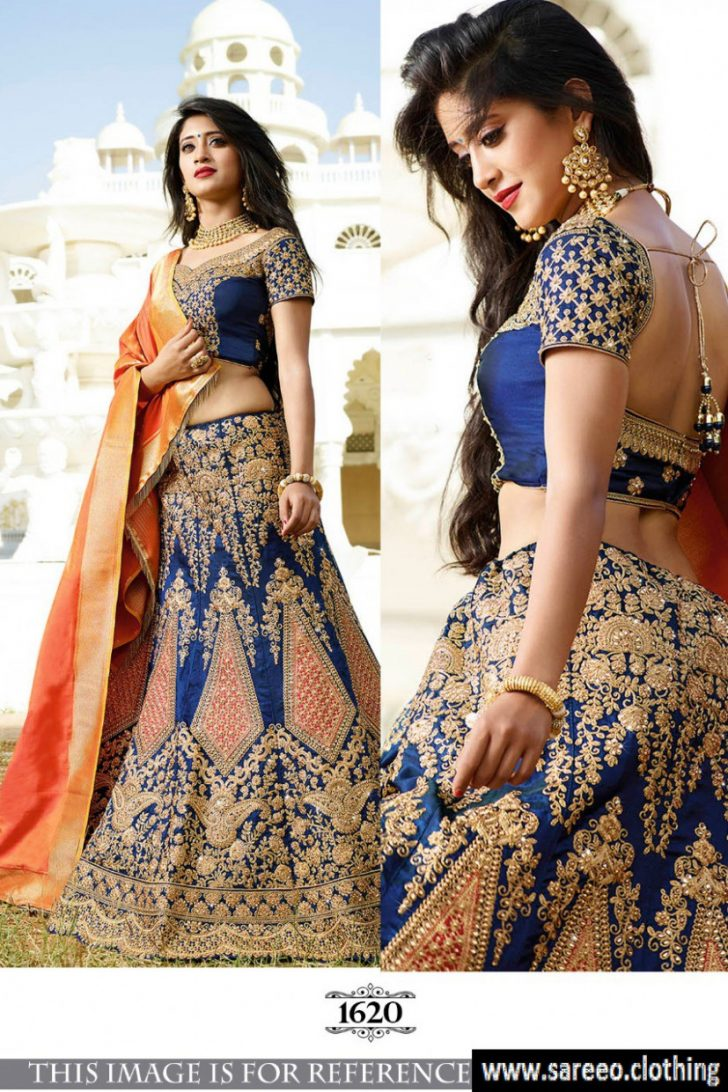 Permalink to Bollywood Lehenga Saree