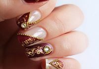 Nail Art For Indian Brides | Fashion in India – Threads – indian bridal nail art designs