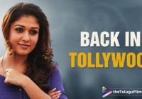 Nayantara Re Entry In Tollywood | Actress Nayantara ..