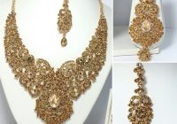 New Indian Bollywood Costume Jewellery Necklace Earring ..