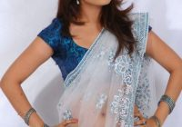 nisha agarwal latest saree stills exposing big boobs deep ..