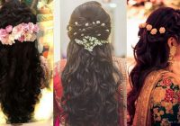 North Indian Bridal Hairstyles For Medium Hair South ..