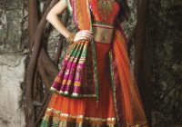 orange indian wedding dress | Fashion by Soma Sengupta – bollywood wedding fashion