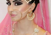 Pakistani bridal, pink, gorgeous makeup, smokey eye ..