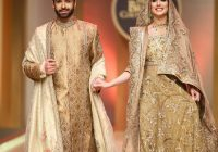 Pakistani Celebrities Walk The Ramp For Bridal Couture ..