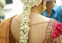 Pelli poola Jada: SouthIndian Bridal Hairstyles with flowers – indian bridal kondai