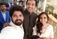 Pellichoopulu fame Priyadarshi Marriage Reception Photos ..